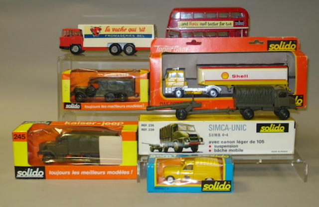 Solido Military, Commercials and buses 9