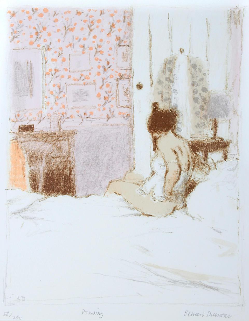 "Bernard Dunstan, R.A. (British, born 1920) ""Dressing"","