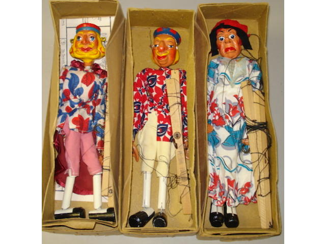 Pelham Puppet Alice in Wonderland characters 3