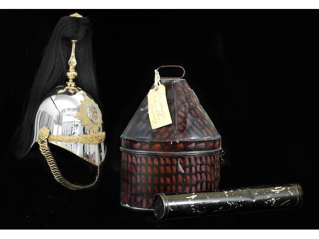 1st The Royal Dragoons Officer's Helmet