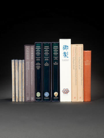 A Library of Chinese art books