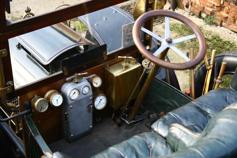 From the family of the late George Milligen and London to Brighton-eligible,1905 Gardner-Serpollet 18hp Type L Steamer with Tulip Phaeton Coachwork  Chassis no. 1013