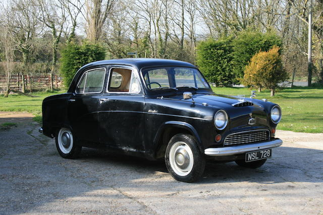 1956 Austin A40 Cambridge Saloon  Chassis no. C755.125245 Engine no. 2G-125245