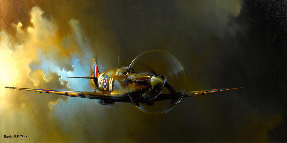 Barrie A F Clark, British (1943- ),  'Spitfire',
