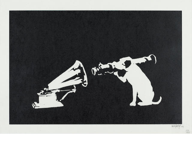 Banksy (British, born 1975) 'HMV Dog' 2004