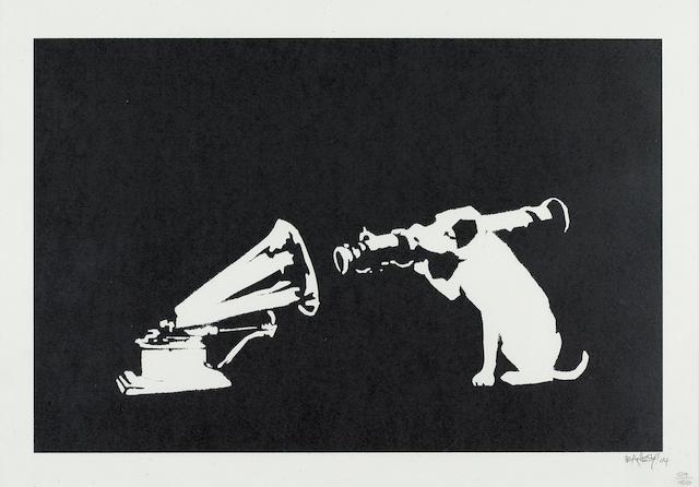 Banksy (British, born 1975) 'HMV Dog' 2004