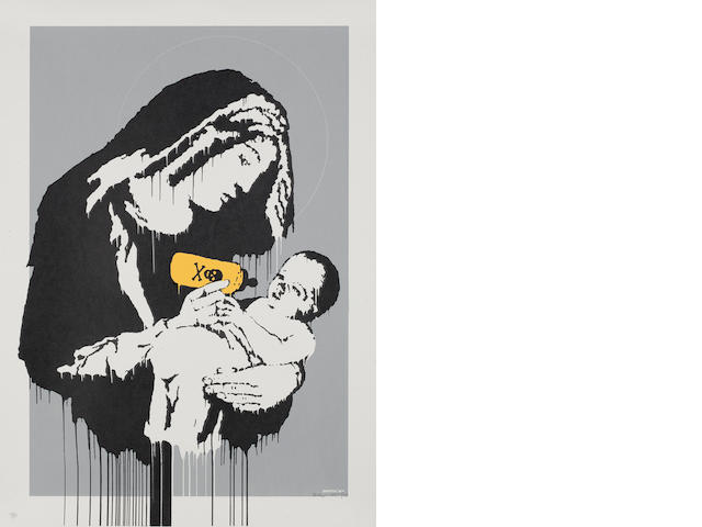 Banksy (British, born 1975) 'Toxic Mary', 2004