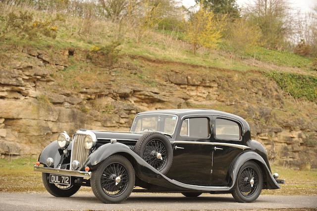 Bonhams 1937 Ss Jaguar 1 Litre Saloon