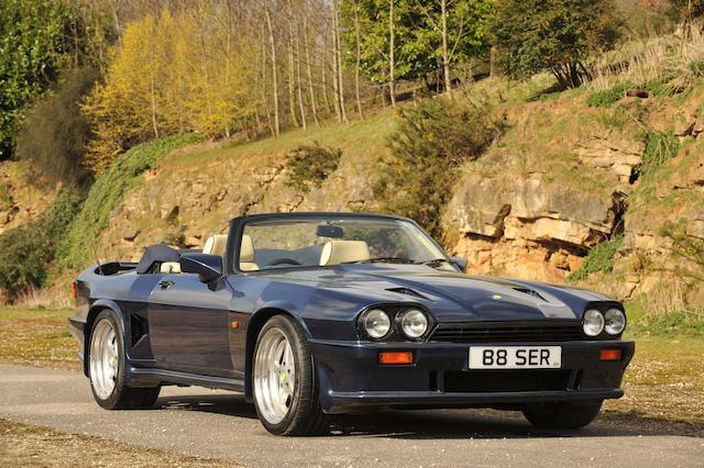 1990 Lister Jaguar 7-litre Mark III Convertible  Chassis no. 057LJSC Engine no. LP07070L