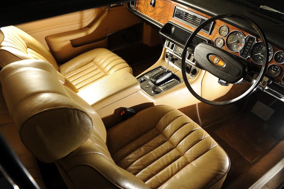 1978 Jaguar XJ12C Two Door Coupé  Chassis no. 2G 1522BW Engine no. 7P 34628 SA