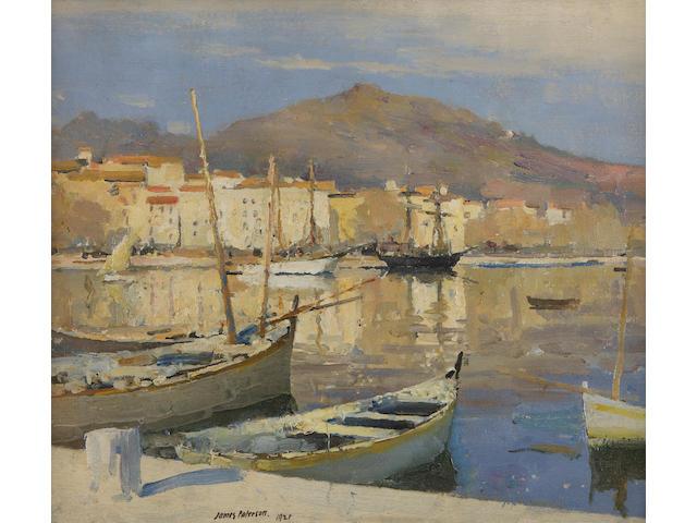 James Paterson, PRSW RSA RWS (British, 1854-1932) Ajaccio, Corsica