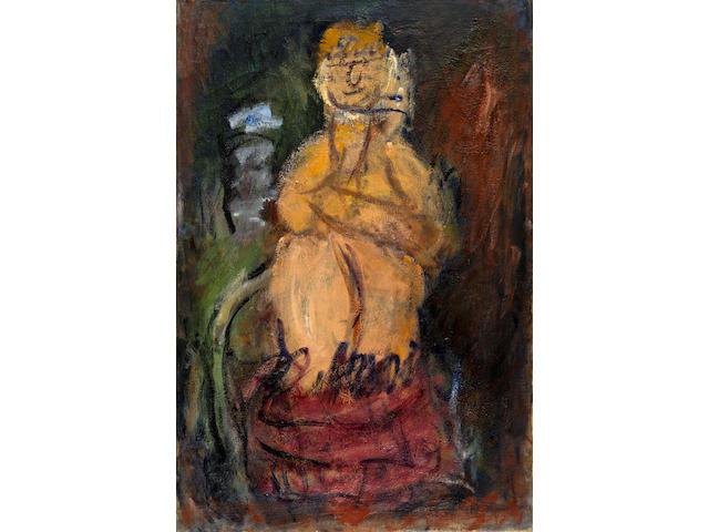 Georgios Bouzianis (Greek, 1885-1959) Asian princess 105.5 x 70 cm