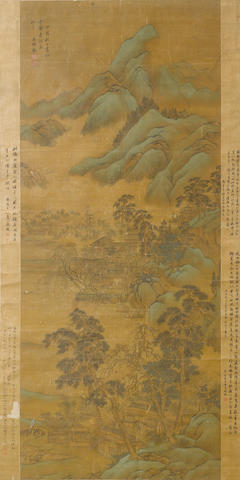 Attributed to Wang Shimin (1592-1680) Landscape