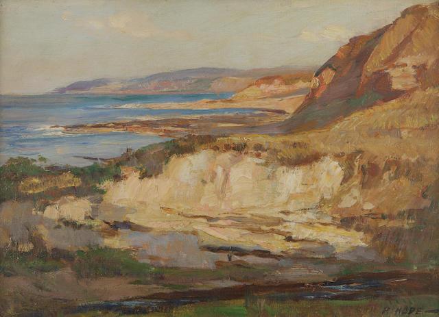 Robert Hope, RSA (British, 1869-1936) Coastal Scene