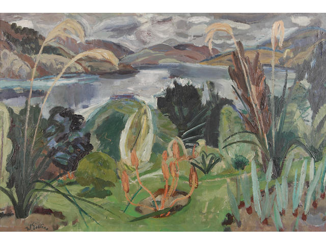 "Sir William George Gillies, CBE LLD RSA PPRSW RA (British, 1898-1973) ""Pampas Grassies, Fearnan, Loch Tay"""