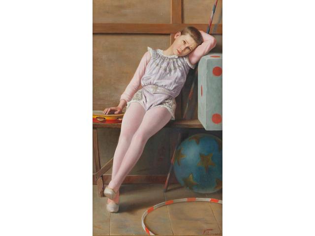 Vittorio Rignano (Italian, 1860-1916) The Circus Boy
