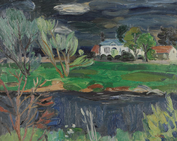Sir William George Gillies, CBE LLD RSA PPRSW RA (British, 1898-1973) 'Westfield Farm' (Haddington)