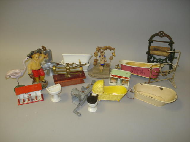 Dolls house furniture and related items