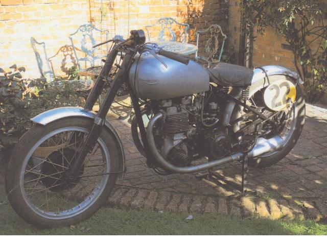 1948 Triumph 499cc Tiger 100 Grand Prix Frame no. 20038R Engine no. T100 97044R