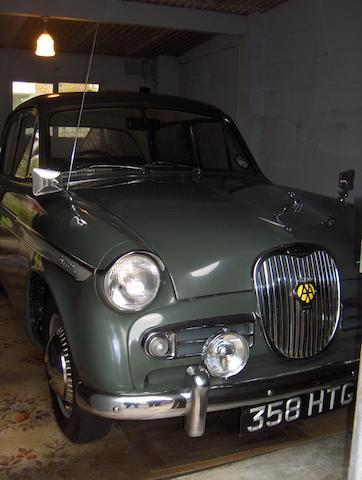 1960 Singer Gazelle Saloon  Chassis no. B7012335NSO Engine no. B7012335NSO
