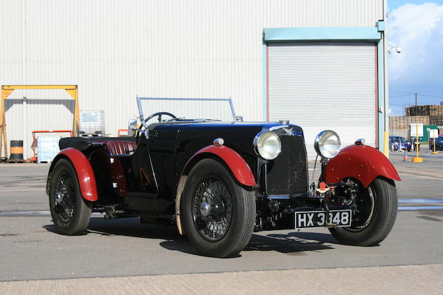 The works demonstrator,1930 Aston Martin International 2/4 1½-Litre Sports Tourer  Chassis no. L0 94 Engine no. L0 94