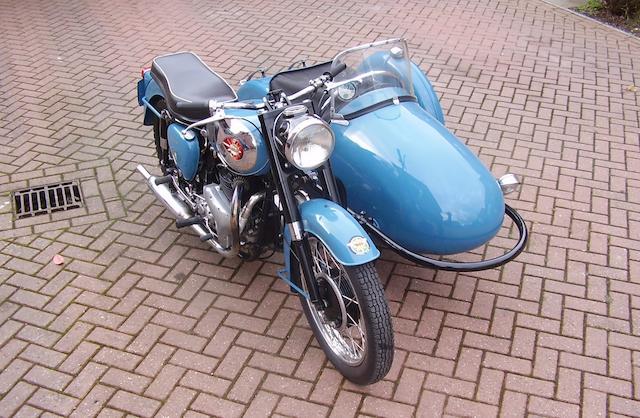 1961 BSA 646cc A10 Golden Flash Motorcycle Combination Frame no. GA 711498 Engine no. DA10 13137