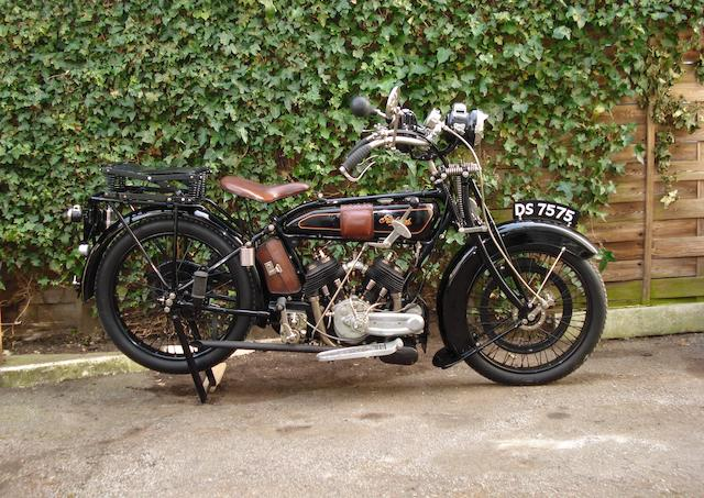 1924 Raleigh 799cc Model 12 Frame no. 533 Engine no. V546