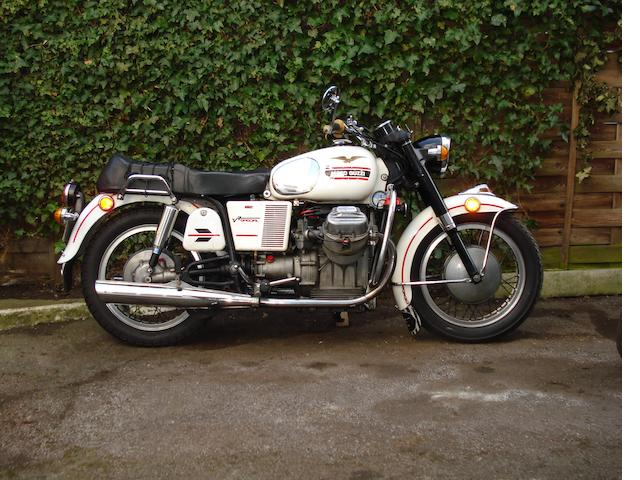 1970 Moto Guzzi 757cc V7 Special Frame no. VM55BE Engine no. 13931