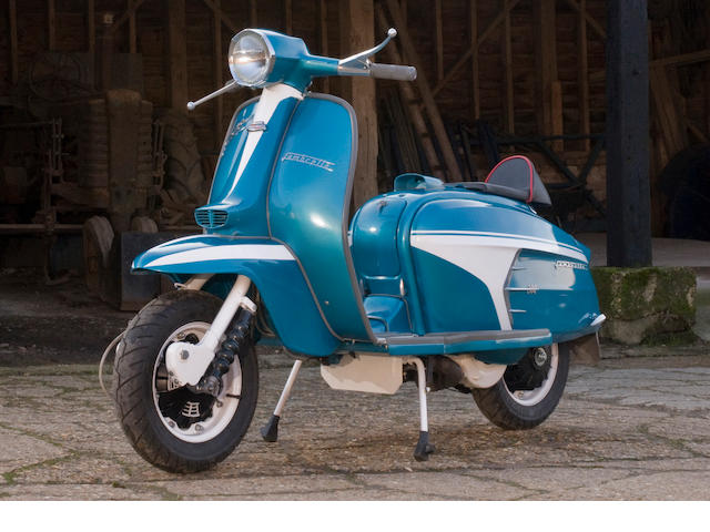 1968 Lambretta Supertune SX200 Rallye SE Frame no. 150LI3.734882 Engine no. ST200.2