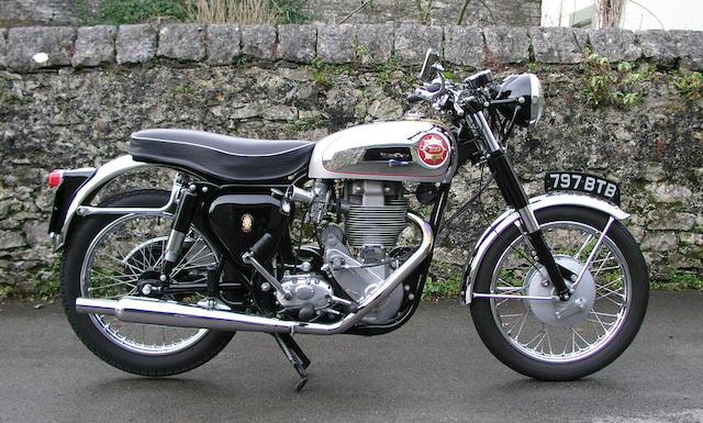1956 BSA 500cc Gold Star Frame no. CB32 5496 Engine no. DB32GS 1038