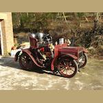 1904  Humberette Royal 6½hp Cyclecar  Chassis no. 2158L Engine no. B5772