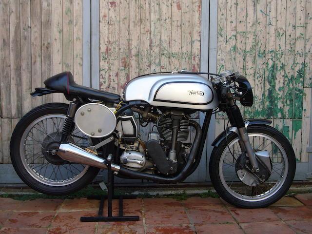 1954/57 Norton 500cc Manx Racing Motorcycle Engine no. J11 57856