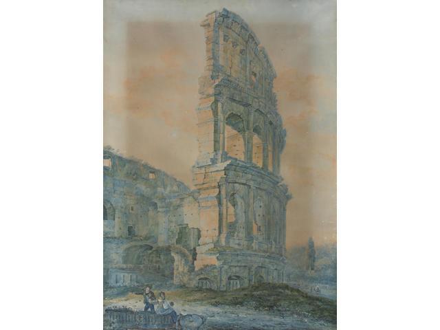 Italian School, Early 19th Century 101 x 67cm Stretchered, unframed.