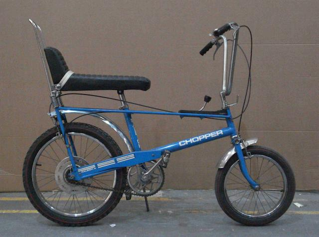 A Mark I Raleigh Chopper bicycle, c1973,