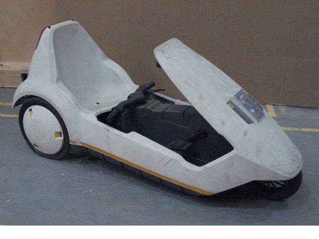 A Sinclair C5 electric 3-wheeler, c1985,
