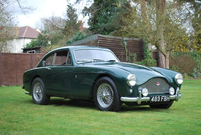 1958 Aston Martin DB Mk III  Chassis no. AM300/3/1696 Engine no. DBA/1297