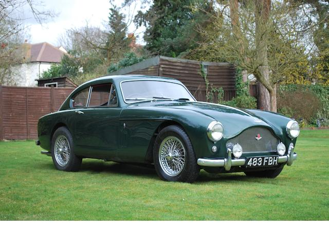 1958 Aston martin DB Mark III,