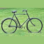 A Sparkbrook 'Sceptre' All-Weather gentleman's 26inch bicycle, No 83881, c1914,