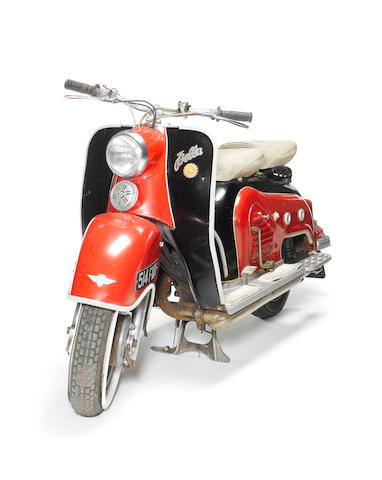 Oasis: the Zündapp Bella scooter featured on the 'Be Here Now' album cover,