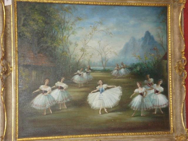 "Carlotta Edwards (British, 19th century) Margot Fonteyn in ""Les Sylphides"","