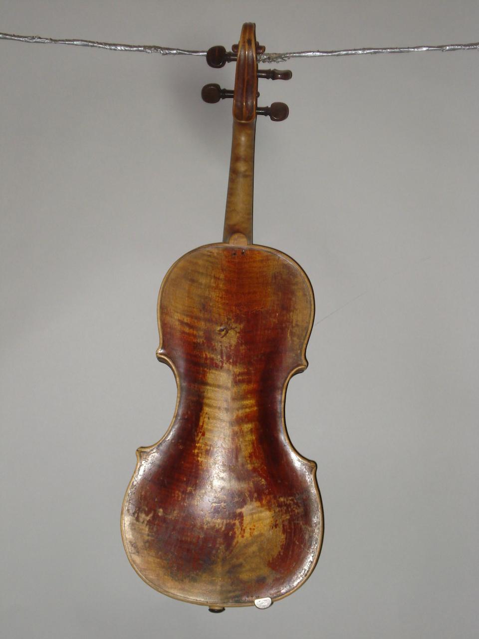 A Mittenwald Violin of the Kloz School, circa 1780 (3)