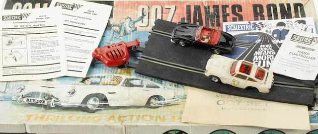 A 'James Bond 007' slot-car racing set, by Scalextric, 1960s,