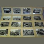 A lot of photographs depicting Thornycroft buses and Charabancs,