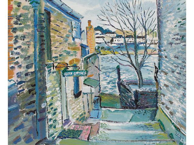 Fred Yates (British, 1922-2008) Cliff Cottage