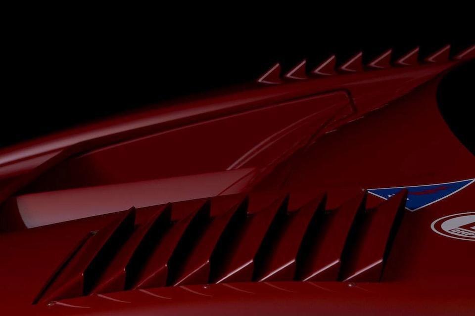 The Ex- Jean-Pierre Jabouille/ Jean-Louis Schlesser/ Olivier Grouillard/ Jacques Lafitte/ Hurley Haywood/ Michel Ferte,1990 Ferrari F40 LM Competition Berlinetta  Chassis no. ZFFGX34X0K0079891