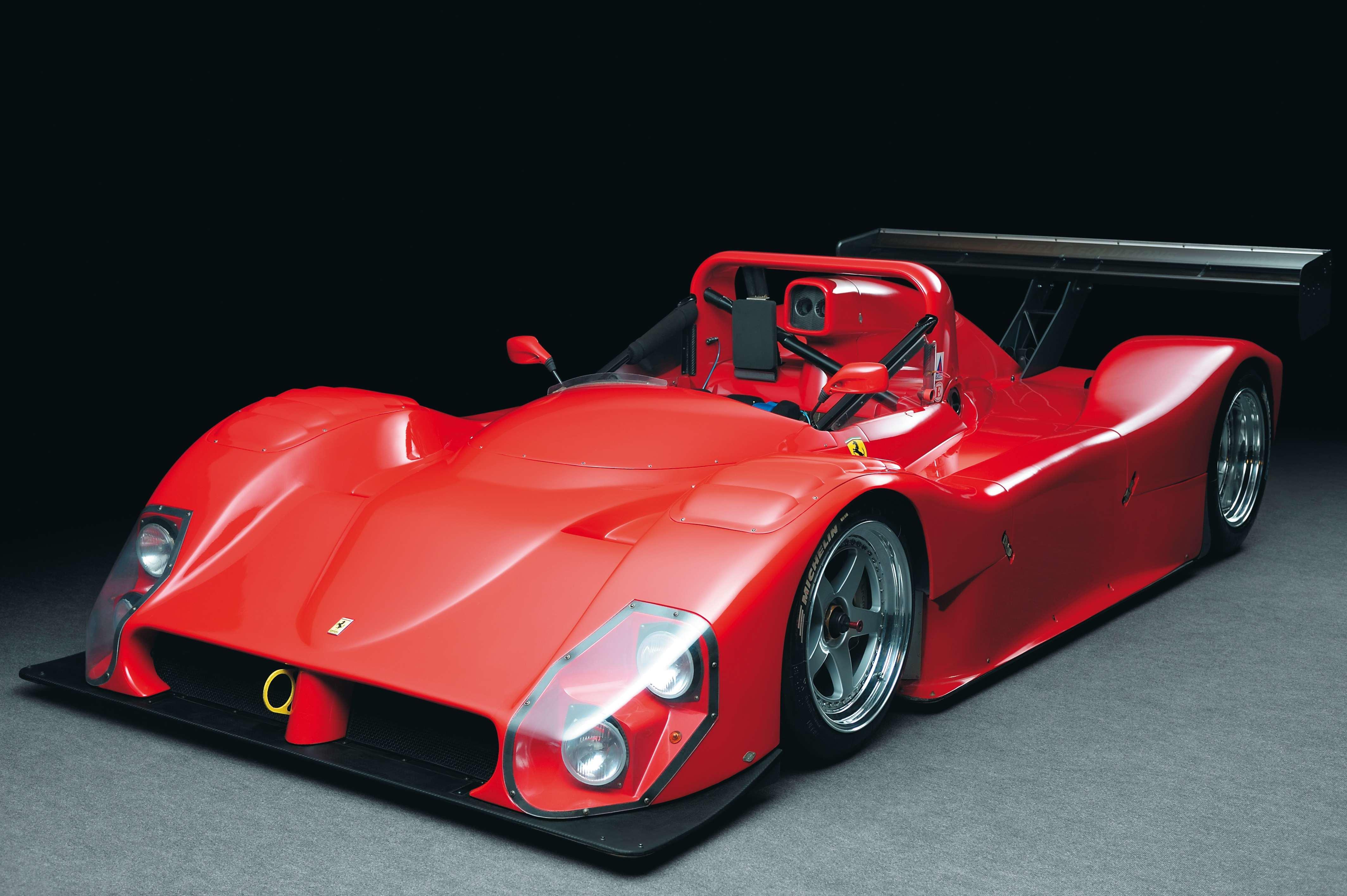 Ex-Daytona 24 Hours, penultimate built 2001 Ferrari 333SP Barchetta Chassis...