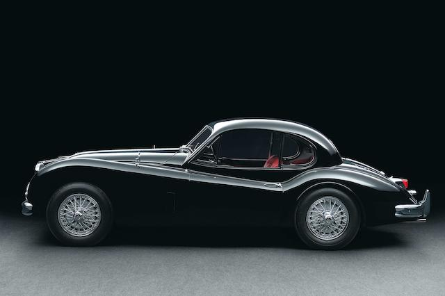 Restored in Germany 'from the ground up',1955 Jaguar XK140 Special Equipment Coupé  Chassis no. S814795