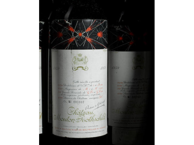 Chateau Mouton Rothschild 1959 (2)