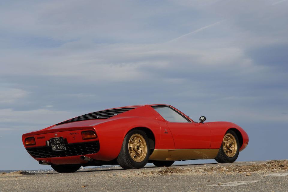 1968 Lamborghini Miura P400  Chassis no. 3420 Engine no. 1802