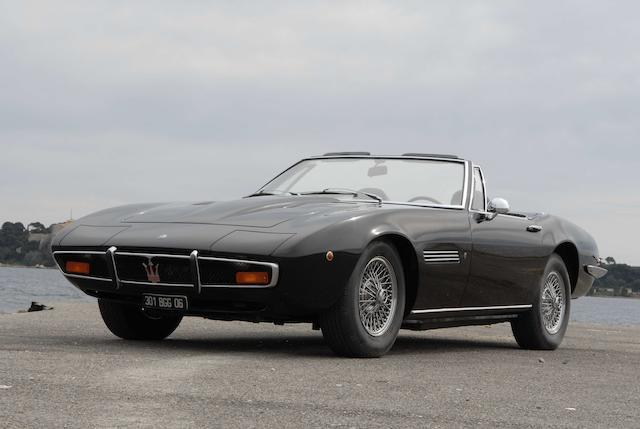1970 Maserati Ghibli 4.7L Spider  Chassis no. AM115S/1221